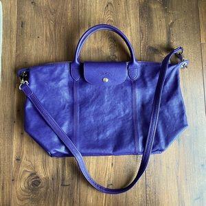 Authentic Longchamp Leather Medium Bag
